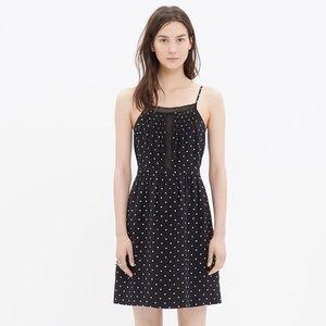 Madewell Polka Dot Silk Dress